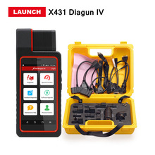 Launch X431 Diagun IV with yellow case Full System Diagnotist Tool Free Update Online X-431 Diagun IV Code Scanner DHL free
