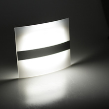 Motion Sensor Wall Sconce Battery Operated Wireless Night Light Auto Wall Lamp for Bedroom Hallway Cabinet Kitchen Closet(China)