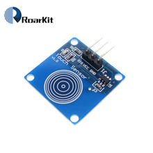 1 channel Jog digital touch Blue Digital TTP223B Sensor Module Capacitive Touch Switch for Arduino Diy Starter Kit(China)