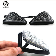 EE support 2PCS DC 12V Motocross LED Turn Signal Lights Motorcycle Signal Lamp Flashing Accessories 5 colors(China)