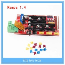 Multicolor RAMPS 1.4 3D printer control panel printer Control Reprap Mendel Prusa  RAMPS with high quality