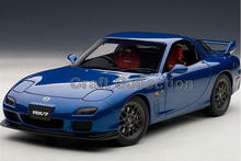 1/18 Mazda RX-7 RX7 SPIRIT R TYPE A Coupe Alloy Model Car Convertible Classical Miniature Toys Limited Edition