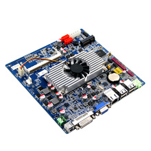 Popular high discount Mini Computer T48E Processor Motherboard With LAN Ports,VGA,LVDS