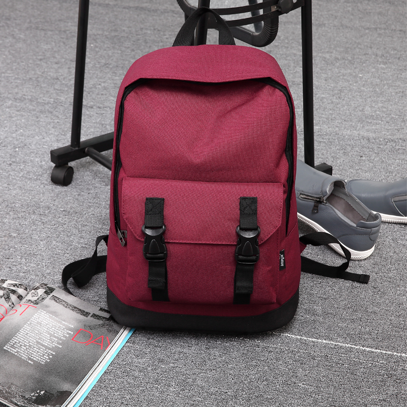 High Quality Men Backpack Zipper Solid Mens Travel Bags Oxford  mochila masculina bolsa school bags kanken<br><br>Aliexpress