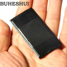 BUHESHUI Mini 0.14W 0.5V 280MA Solar Panel Solar Cell DIY Solar Experiment Solar Moudle 30*60*3MM 10pcs/lot Free Shipping(China)