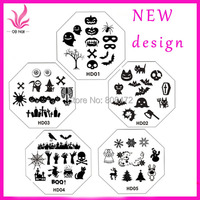 Stamping nail template shop cheap stamping nail template from 2017 new arrival holiday design disc 5pcslot nail art stamping image template plate prinsesfo Image collections