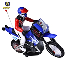 Huanqi 528 RC Motorcycle 35MHz Motor Off-road High Speed Wireless Radio Control RC Motorcycle Toys with Stunt Function