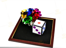 New arrival dice, flower magic dice to flower ball magic tricks magic props