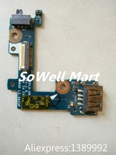 Original laptop IO board for Dell Latitude E5440 Laptop VAW30 LS-9833P USB board without FFC