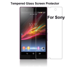 9H 2.5D Anti Scratch Tempered Glass Screen Protector For Sony Xperia Z1 Z2 Z3 Compact mini E3 E4 C3 M2 Film Guard Case Cover