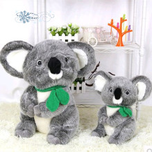 lovely gray koala plush toy koala doll soft pillow Christmas gift w2486(China)