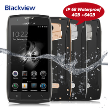 "Blackview BV7000 Pro Rugged Mobile Phone IP68 Waterproof 5"" FHD MT6750T Octa Core 4G+64G Fingerprint Glonass 4G LTE Smartphone"