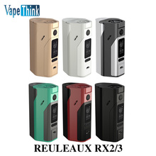 Wismec Reuleaux RX2/3 TC 150W/200W Box Mod Vape RX23 Powered by Two/Three Cells RX200S Upgrade E Cigarettes mechanical Box Mod
