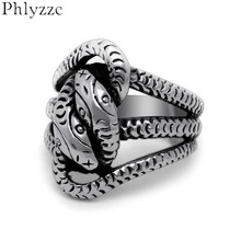 Drop Ship Vintage Biker Snake Hydra Medusa Ring Mens Stainless Steel Animal Rings Punk Goth Jewelry Cool Party Accessories R462(China)