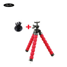 Go Pro Flexible Leg Mini Tripod for Go pro Digital phone and adapter mount for Gopro hero 4 3 2 1 HD xiaomi yi cameras VP414