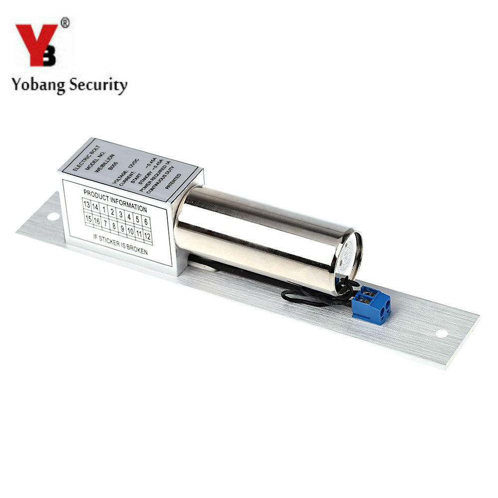 Yobang Security-Electric Lock For Home Security Access Control System Electronic Door Lock for Video Intercom Doorbell<br>