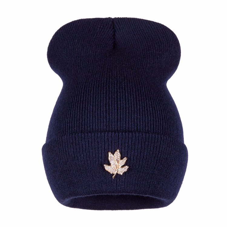 Ralferty Casual Crystal Leaf Beanie Winter Hats For Women Skullies Caps Female Chapeu Toca bonne gorras bonnet Cap Men Snowboard 7