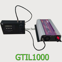 1000W solar grid tie inverter with power limiter prevent extra power to grid,pure sine wave output,mppt solar grid tie inverter(China)