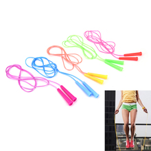 2.4m Speed Wire Skipping Adjustable Jump Rope Fitness Sport Exercise Cross Fit
