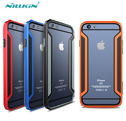 For Apple iPhone 6S Plus case NILLKIN Armor-Border Series Ultra-Thin Luxury Bumper Case For Apple iPhone6 Plus mobile phone case(China)