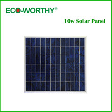Eco-worthy 10W 18V poly solar panel solar module, solar cell panel, solar system for charge 12V battery ,free shipping