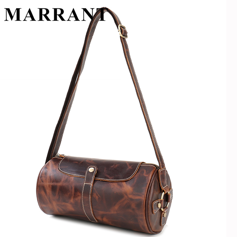 MARRANT New Small Shoulder Bags Men Messenger Leather Bags Vintage Genuine Leather Men Bags Crossbody Bag Causal Handbag Flap <br><br>Aliexpress