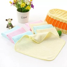 2pcs/Lot 22X22CM Bamboo Baby Washcloths/Wipes Ultra Soft and Absorbent, Perfect Baby Shower Gift Hypoallergenic Reusable Towel(China)