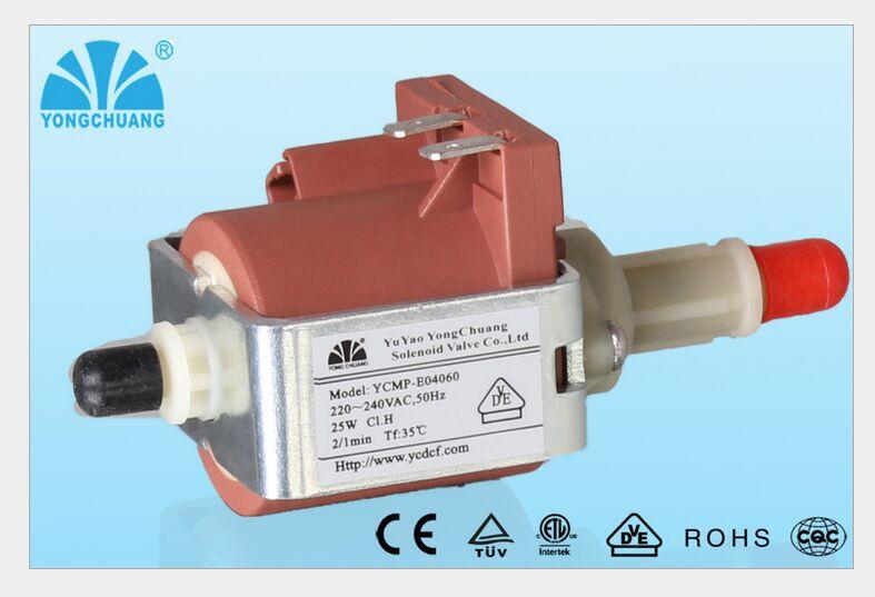 25W AC 220V Self Sucking Electromagnetic Pump for Water dispenser / Steam iron / Steam cleaning machine / coffee machine<br><br>Aliexpress