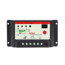 hot sale 10A 20A 30A 12V 24V Solar Cell panels Battery Charge Controller Timer for LED street lighting or solar home system(China)
