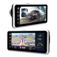 H99 7 inch Car GPS Navigation Android 170 Degree Wide Angle with Camera Recorder FM Bluetooth WIFI Rear View Camera