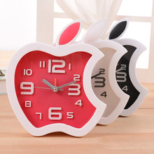 72pcs/lot 37-121 stereo digital clock Apple Desktop Clock fashion simple bedroom study LY1157 friends gifts