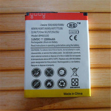 High Quality Replacment Battery 3.8V 2200mAh Phone Batteries For HTC Desire 500 600 5088 606W 608T 609D 60T T528/D/W/T/oneSC/ST