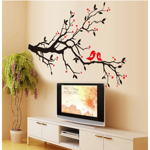 Branch Stickers Wall Sticker Wall Art Home Decoration Accessories Bedroom Decor Wall Stickers Home Decor Living Room