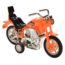 1 Pcs Children's Educational Toys Pull Back Motorcycle Vehicle Toys Gifts Children Kids Motor Bike Model(China)