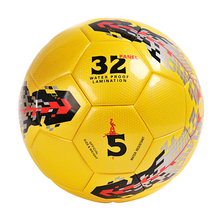 soccer ball size 5 PU leather football competition training professional football Seamless Paste for soccer Free ship C06