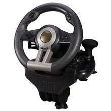 Game accessory second generation pxn-v3ii simulation automobile race vibration computer games steering wheel Learning to drive(China)