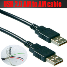 High speed USB extension cable Repeater cable USB 2.0 A male to A male 5M,3M,1.8M,1M,0.1M triple-shielded