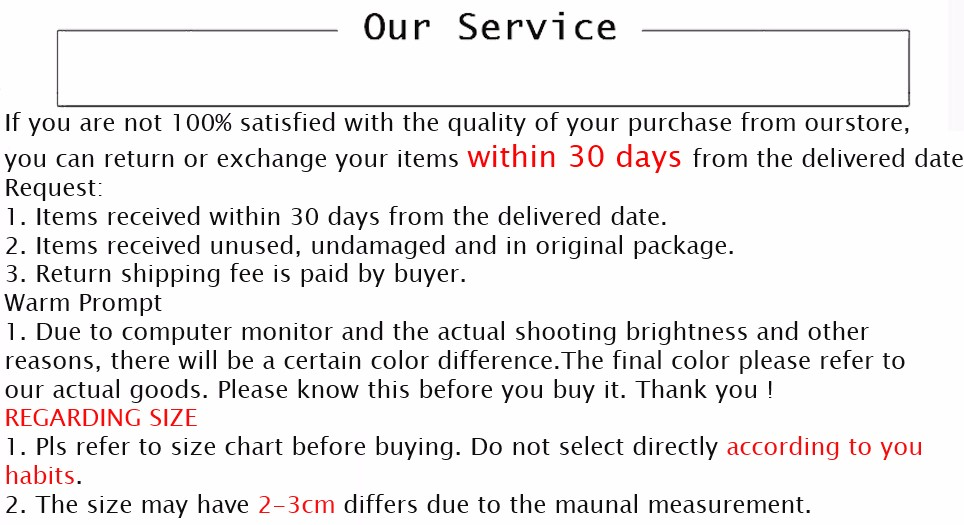 our service 01