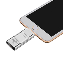 Nrico usb flash drive 8GB 16GB for ios pen Drive U Disk 32GB for iPhone 6 7 6s Plus OTG for Lightning for MAC/PC(China)