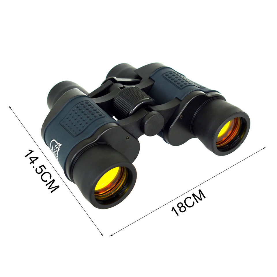 60x60 3000M HD Professional Hunting Binoculars Telescope Night Vision for Hiking Travel Field Work Forestry Fire Protection