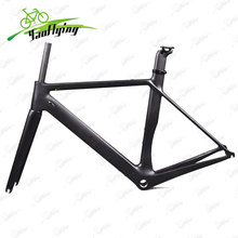 2017 high quality carbon frame road bike 700C carbon frameset include fork,headsets,clamp bicycle bicicleta carbon frame(China)