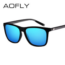 AOFLY BRAND DESIGN Classic Polarized Sunglasses Driving Sports Style Sun Glasses for Men Women Vintage Eyewear Accessories UV400(China)