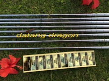original golf clubs authentic true temper dynamic gold steel shaft S300 or R300 Flex real 9pcs golf irons shaft
