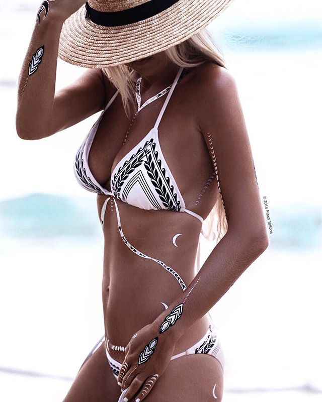 Olive branch print sexy white color bikini 2017 print tree leaf swimsuit simple  bottoms swimwear women bathing suit<br><br>Aliexpress