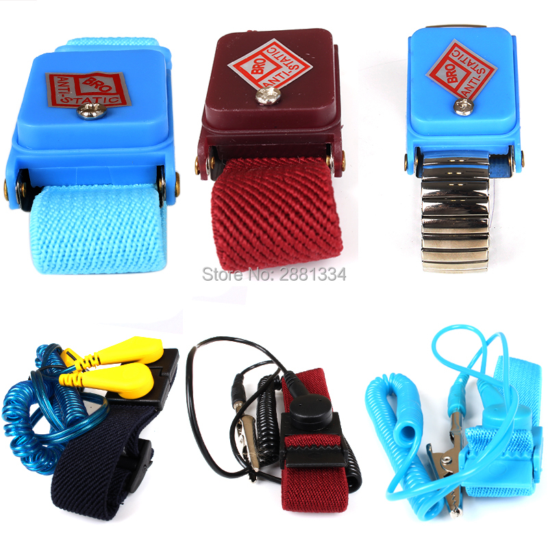 Nice 498 Anti-static Wrist Strap Monitor Measurement Antistatic Wrist Strap Tester For Repair Work+ground Wire+esd Wrist Matching In Colour Back To Search Resultstools