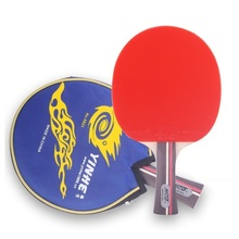 Yinhe 01b 01D 02b 02d 0101b table tennis Rackets pimples pills short and long handle with mat and bubber(China)