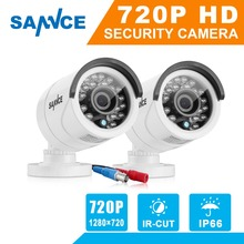 Buy SANNCE 2PCS AHD 720P 1200TVL Security Camera System Outdoor IR Night Vision 1MP CCTV Home Surveillance Security kits for $47.16 in AliExpress store