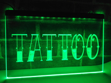 LB550- Tattoo  Bar Pub Art Piercing   LED Neon Light Sign   home decor  crafts