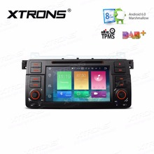 XTRONS 7'' Radio Android 6.0 Octa Core 1 Din Car DVD Player GPS for BMW E46 320 325 1998-2006/Rover 75 1999-2005/MG ZT 1999-2006(China)