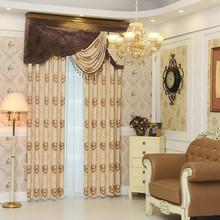 The new low - cost European - style curtains curtains luxury curtains living room bedroom balcony finished product customization(China)